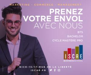 ISCAE école de commerce à Nice
