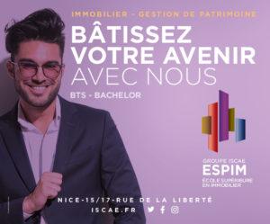 ESPIM école des professions immobilières à Nice