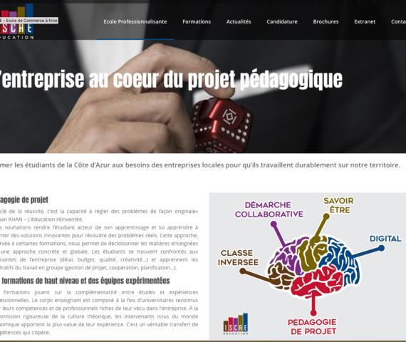 nouveau site ISCAE