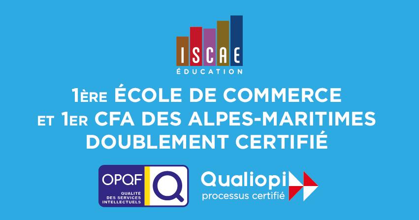 ISCAE Education - Ecole de commerce, communication, immobilier à Nice PACA
