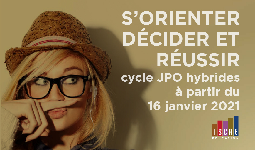 E-JPO 2021 De L'ISCAE Nice