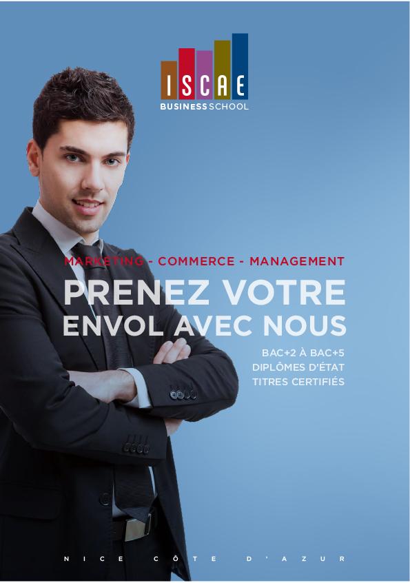 ISCAE Business School, Ecole commerce, management, marketing Nice