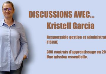 Kristell Garcia, Responsable Gestion Et Administration Au Sein De L'ISCAE